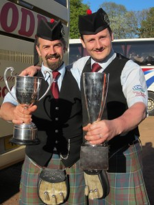 Bathgate trophies